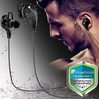 Bluetooth 4.1 Stereo Sport Headset In-Ear Wireless Earphone Earbud Headphone Mic