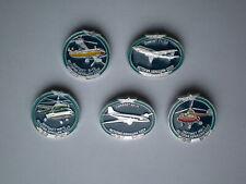 Vintage USSR Aeroflot Aviation History Soviet Airplanes Russia Pin Badges