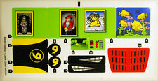 LEGO 8160 - Speed Racer - Cruncher Block & Racer X - STICKER SHEET
