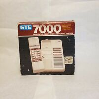 Vintage 1987 New in Box GTE Telephone/Telephone Answering System 7000