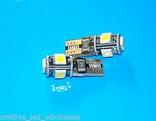 ULTRA White T10 CANBUS ERROR FREE LED Lights for VW Tiguan Polo Golf GTI Jetta