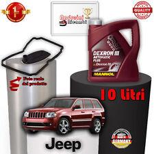 TAGLIANDO CAMBIO AUTO E OLIO JEEP CHEROKEE III 3.0 CRD 160KW 2007 -> 2010 1015