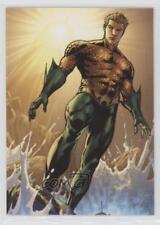2012 Cryptozoic DC The New 52 #4 AquaMan Non-Sports Card 0p3