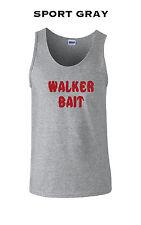 039 Walker Bait Tank Top cool scary zombie apocalypse walking horror scary glen