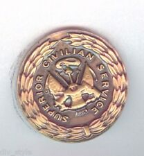 Superior Civilian Service Award US Army Lapel Button