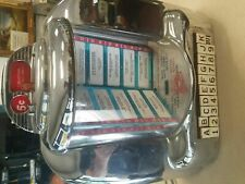Vintage Seeburg 3W1 Wall Jukebox Johnny Rockets Diner Bar Restored Table top Wal