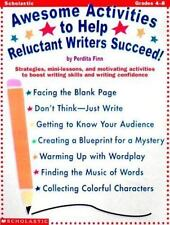 Awesome Activities Help Reluctant Writers Succeed Home School Classroom Educate