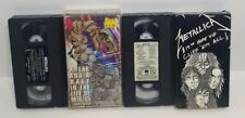 2 VHS lot Metallica Cliff Em All + A Year and a Half in the Life continued