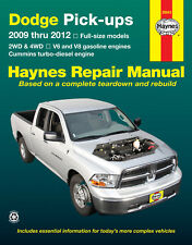 Repair / Service / Shop Manual Dodge Ram Truck 2009 2010 2011 2012 Haynes 30043