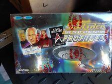 Fleer/Skybox Star Trek The Next Generation TNG Profiles sealed card box 1 auto