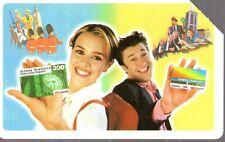 26-Scheda telefonica Telecom E' una cosa meravigliosa ..ragazzi sc.12/1999