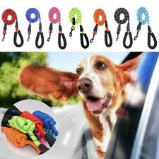 Extra Strong Reflective Rope Dog Lead with Foam Padded Handle Leash 1.6M