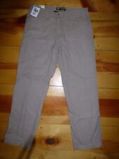 Lee Mens Straight Fit Utility Chino Pant New Pebble Size 34 x 32