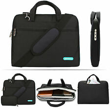 """14"""" 15.6"""" 13.3"""" Laptop Shoulder Bag Cover Case For HP DELL Computer Notebook PC"""