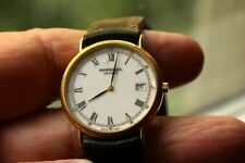 Raymond Weil Geneve Swiss Made Wristwatch, 5514-2, 18K Gold Plated, Needs Repair