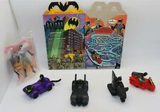 VINTAGE - McDonalds - Happy Meal lot - 1993 - BATMAN THE ANIMATED SERIES - BOX++