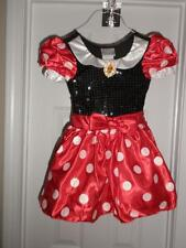 DISNEY STORE MINNIE MOUSE Costume XXS 2/3 TODDLERS  NEW BLACK TOP