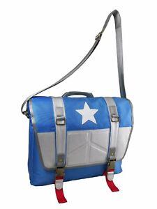 Captain Shoulder Bag America Youth Satchel Messenger Bag Teenager Bookbag Comic