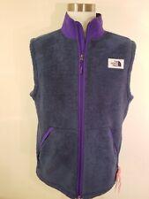 North Face Mens XL Campshire Vest. Shady Blue / Deep Blue Purple.