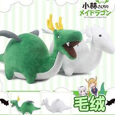 28CM Green Miss Kobayashi's Dragon Maid Stuffed Animal Dragon Plush Doll Toy