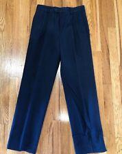 Nwt Lord & Taylor Boys Dress Pants School Uniform Navy Blue 20 R