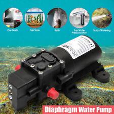 12V Diaphragm Water Pump Self-Priming Caravan Boat 100Psi High Pressure 4L/min