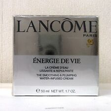 LANCOME Energie De Vie Plumping water Infused Cream - 50ml - BNIB SEALED