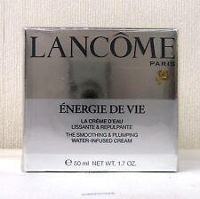 LANCOME ENERGIE DE VIE Plumping ACQUA infuso Crema - 50ml-NUOVO CON SCATOLA SIGILLATA
