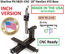 Sherline 5825 Cnc Inch 18 Nexgen Xyz Base Cnc Ready See 5830 Cnc For Metric