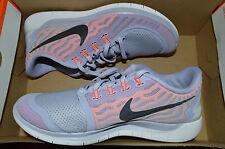 New Nike Womens Free 5.0 Run Running Shoes 724383-502 sz 8.5 Titanium