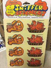 1 VINTAGE 80's paper art chicken 🍗 Sniff sticker pack $1.50 ship