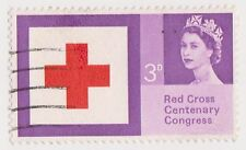 (GBN-38) 1963 GB 3d red cross SG642