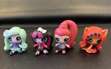"""Mattel Monster High Minis 2"""" Doll Figures Lot of 4"""