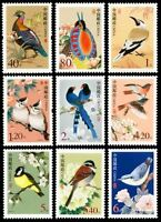 China  Stamp-2002-  R31 普中國鳥- China Birds StampS-MNH