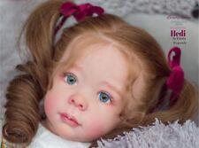 "Hedi By Karola Wegerich Reborn Baby Toddler Doll Kit@LE555@24""@ Body Include"