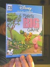 PIGLET'S BIG GAME DISNEY JUNIOR GAMES PC CD GREAT GIFT FREE UK POST