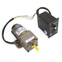 Moteur à engrenage asynchrone monophasé Électrique vitesse réglable 220V 20K Kit