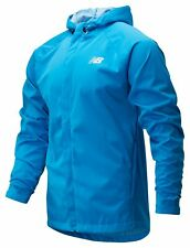 New Balance Men's Sport Rain Jacket Blue