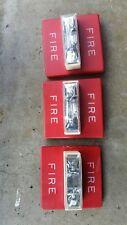 (Set Of 3)Wheelock Rss-121575W Wall Mount Fire Strobe