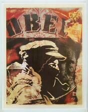 Shepard Fairey OBEY GIANT Street Art MARCOS DELEGATE ZERO ZAPATISTA Poster page