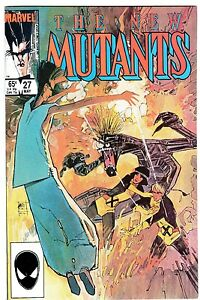 NEW MUTANTS 27   2nd LEGION Appearance!   SIENKIEWICZ Cover & Art!   VF/NM (9.0)