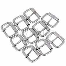 10Pieces 2.5cm Roller Hardware Pin Buckle for Backpacks & Clothing Accessories
