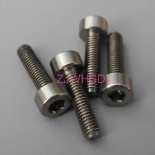 4pcs M3 x 12 Titanium Ti Screw Bolt Allen Hex Socket Cap Head / Aerospace Grade
