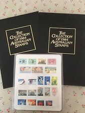 Collection of 1984 Australian Post Year Book Album with Stamps - Deluxe Edition