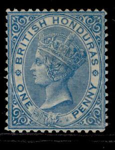 BRITISH HONDURAS QV SG11, 1d pale blue, M MINT. Cat £85. WMK CC