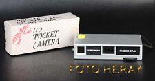 Toptron Microcam Pocket analoge 110 Kamera guter Zustand 02380