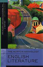 The Norton Anthology of English Literature, Volume F: The Twentieth Century and