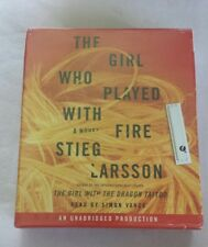 The Millennium Trilogy:The Girl Who Played with Fire No. 2 by Stieg Larsson 2009