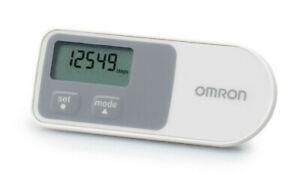 Omron Schrittzähler Walking style One 2.0 weiß mit Clip OHNE Bluetooth