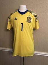 Spain España Casillas Euro Porto Real Madrid Shirt Adizero Player Issue 8 Jersey